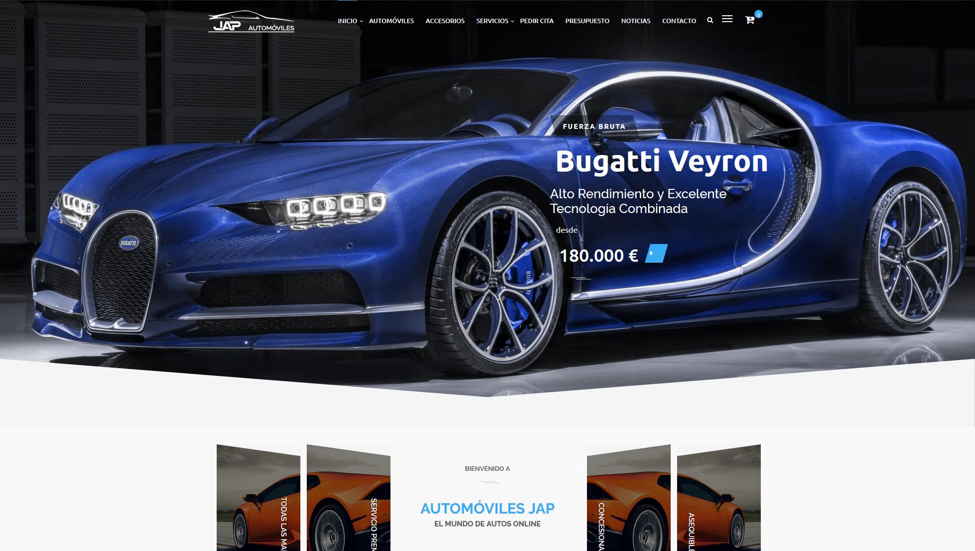Diseño Web Automóviles