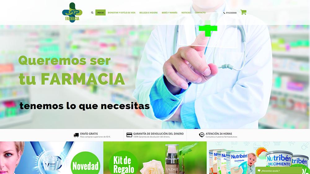 Creación webs farmacia