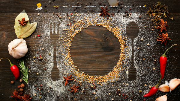 Creación páginas web restaurantes